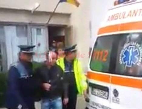 Cetăţeanul a fost reţinut pentru ultraj