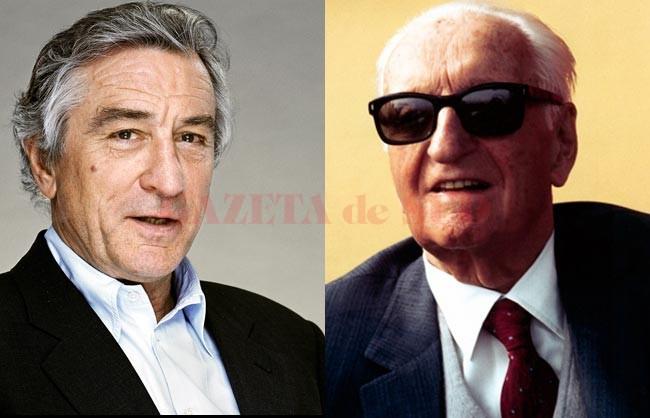 Robert de Niro (stânga) îl va interpreta pe Enzo Ferrari. (Foto: media2.intoday.in)
