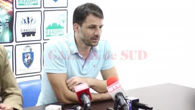 Laurențiu Lică este încrezător că el și colegii săi pot cuceri medalia de bronz (foto: Traian Mitrache)