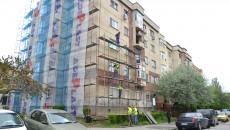 Trei blocuri din Craiova, izolate pe bani europeni (Foto: Lucian Anghel)