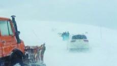 Drumul a fost închis în noaptea de vineri spre sâmbătă (Foto: Eugen Măruţă)