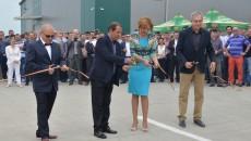 Reprezentanții companiei au tăiat panglica inaugurală a centrului logistic Nitela, de pe Centura de Nord