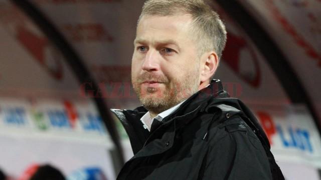 Edi Iordănescu dorește să scrie istorie la Pandurii