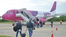 Pe perioada verii, Wizz Air nu zboară de la Craiova (FOTO: Arhiva GdS)