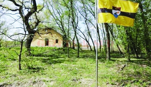 Imagine din cea mai nouă ţară din lume, Liberland (Foto: independent.co.uk)