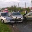 În accidentul produs chiar de 1 Mai în comuna Dobrosloveni au fost implicate trei maşini