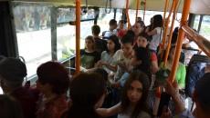 În autobuzele de 200.000 de euro, aerul condiționat este închis