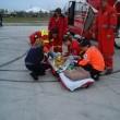 """Băiatul de un an şi jumătate are arsuri pe 40% din suprafaţa corpului  şi a fost transportat cu un elicopter la Spitalul """"Grigore Alexandrescu"""" din Bucureşti"""
