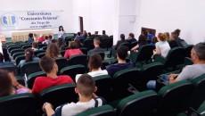 Delegație de elevi de pe Valea Timocului, la UCB