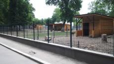 Adăposturile ierbivorelor au fost refăcute, fiind realizate din lemn