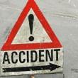 semn rutier accident