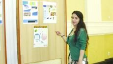 17 tineri înscrişi la master au realizat o expoziţie de postere cu o tematică diversă privind problemele Europei (Foto: Traian Mitrache)