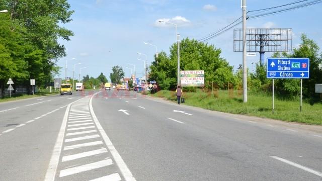 Autostrada Craiova - Pitești este singura arteră rutieră prinsă în Master Planul de Transport al Românie prevăzută a fi finalizată până în 2020 (Foto: GdS)