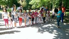Copiii au alergat grupați pe categorii de vârstă