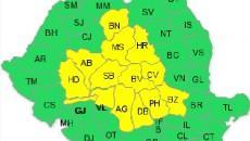 cod galben 25 iunie