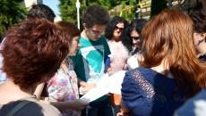 Subiectele primite de elevi la evaluarea naţională, mai uşoare decât problemele de la clasă (FOTO: Bogdan Grosu)