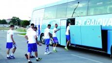 Alb-albaştrii au plecat cu optimism spre Târgu Mureş şi trebuie să se întoarcă cu un rezultat pozitiv ()