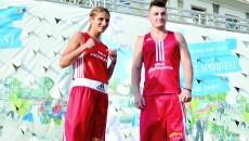 Dora Mustăţea şi Ionuţ Popescu, multipli campioni naţionali, îşi vor încrucişa mănuşile cu sportivi străini (Foto: Lucian Anghel)