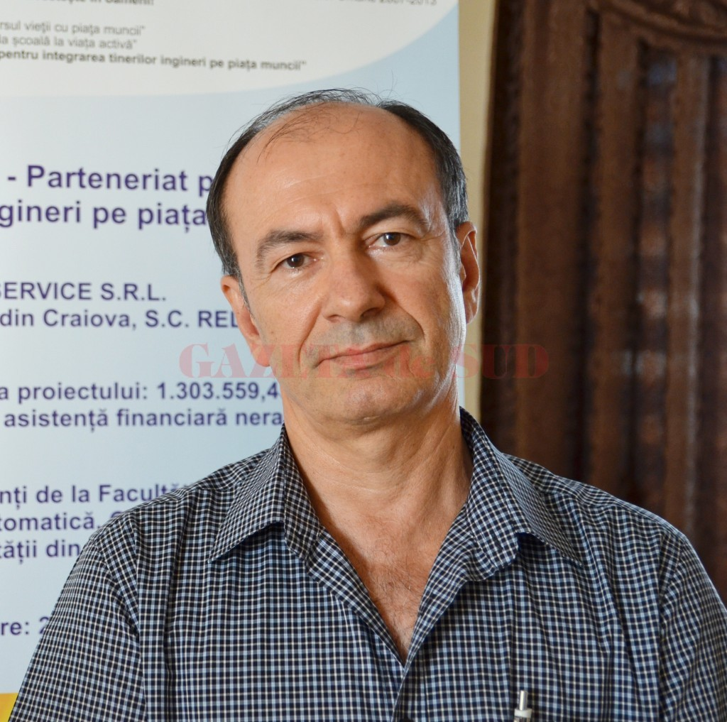 Dumitru Pârvu, directorul general al Sitco Service (FOTO: Bogdan Grosu) - Dumitru-Parvu-director-Sitco-Service-SRL