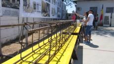 Craiovenii au putut vedea ce materiale sunt folosite la lucrări, dar și cum vor arăta apartamentele