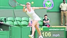 Simona Halep a suferit o nouă eliminare şocantă, în turul întâi al turneului de mare şlem de la Wimbledon