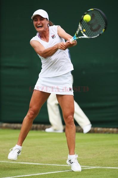 Monica Niculescu prinde săptămâna a doua la Wimbledon după ce s-a calificat în optimile de finală