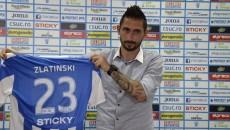 Hristo Zlatinski speră să aibă evoluții bune în tricoul CS Universitatea Craiova (foto: Alexandru Vîrtosu)