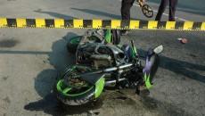 Tânărul de 26 de ani a murit după ce a lovit în plin un autoturism care nu i-a acordat prioritate