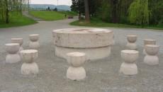 masa tacerii parc
