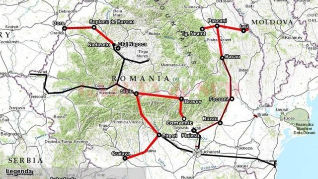 Craiova-Pitești este singura autostradă prinsă în Master Planul General de Transport al României până în anul 2020
