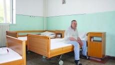 Așa arată saloanele din Clinica Medicală I în care sunt internați pacienții