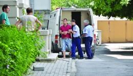 Craioveanul a fost dus ieri la Parchetul de pe lângă Tribunalul Dolj pentru a fi audiat de către procuror (Foto: GdS)