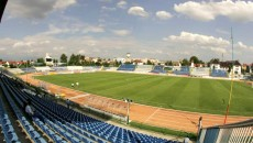 Stadionul Municipal din Târgu Jiu va fi înlocuit cu o arenă nouă (Foto: Eugen Măruţă)