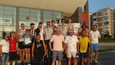 La festivitatea de premiere au participat două glorii ale voleiului craiovean, Dan Pascu și Nicu Braun