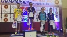 Ștefania Priceputu a urcat pe cea mai înaltă treaptă a podiumului în Serbia