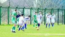 """Juniorii B de la Academia """"Gică Popescu"""" (în alb) au câştigat cu 2-0 disputa cu vâlcenii"""