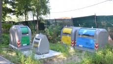 Containerele demonstrative zac în Parcul Tineretului (Foto: GdS)