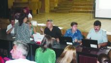 La şedinţele publice, sute de profesori din Dolj au încercat să-şi găsească un loc de muncă