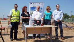 De la stânga, Marian Petcu, Ileana Măjină, Ion Prioteasa, Alina Tănăsescu şi Cristinel Iovan