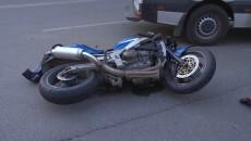 motocicleta cazuta