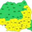 harta cod galben 3 septembrie