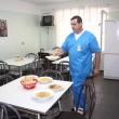 Sala de mese din Clinica de Oncologie a Spitalului de Urgență Craiova (Foto: Traian Mitrache)