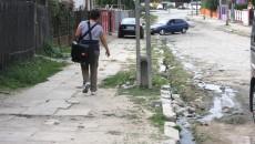 Strada Potelu din cartierul Romanești. (Foto: Anca Ungurenuş)