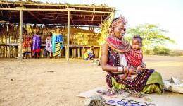 Satul Umoja din Kenya este populat doar de femei şi copii (Foto: theguardian.com)