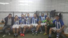 Fotbaliștii craioveni sărbătoresc cel mai recent trofeu cucerit