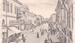 O singură stradă, Lipscani, două orizonturi culturale,   sfârșitul secolului XIX