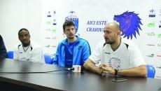 Johnson, Vuksanovic şi Popescu consideră că Energia este un adversar dificil (Foto: Bogdan Grosu)