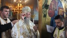 IPS Irineu, la sfintirea Bisericii Sfantul Nicodim