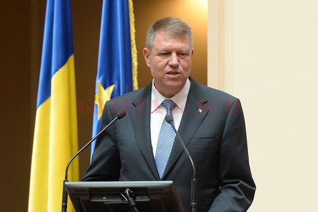 Președintele Klaus Iohannis (Foto: Mediafax)