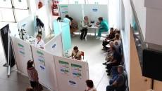 Echipa Ford de la Craiova, cu sprijinul Fundației Gazeta de Sud,  a deschis un cabinet mobil la Electroputere Mall